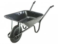 Wheelbarrow Heavy Duty 85L - Black