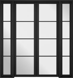 Soho W6 Primed Black Doors 1904 x 2031mm