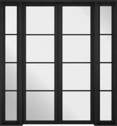 Soho W6 Primed Black Doors 1904 x 2031mm