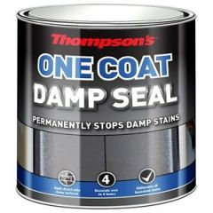 Thompson One Coat Damp Seal - 2.5Ltr