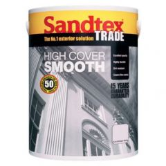Sandtex Trade High Cover Smooth Brilliant White - 5L