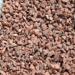Cumbrian Red Chippings - 14mm (25KG)