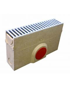 RainDrain Brickslot B 125 Sump Unit with Access Cover and Silt Bucket