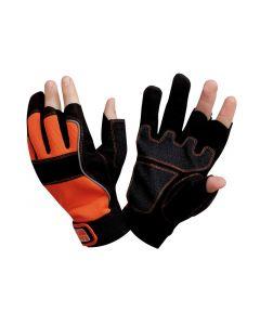 Carpenters' Fingerless Glove Large (Size 10)