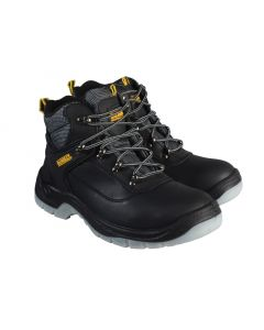 Laser Safety Hiker Black Boots UK 10 Euro 44