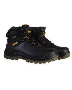 Newark S3 Waterproof Safety Hiker Black Boots UK 9 Euro 43